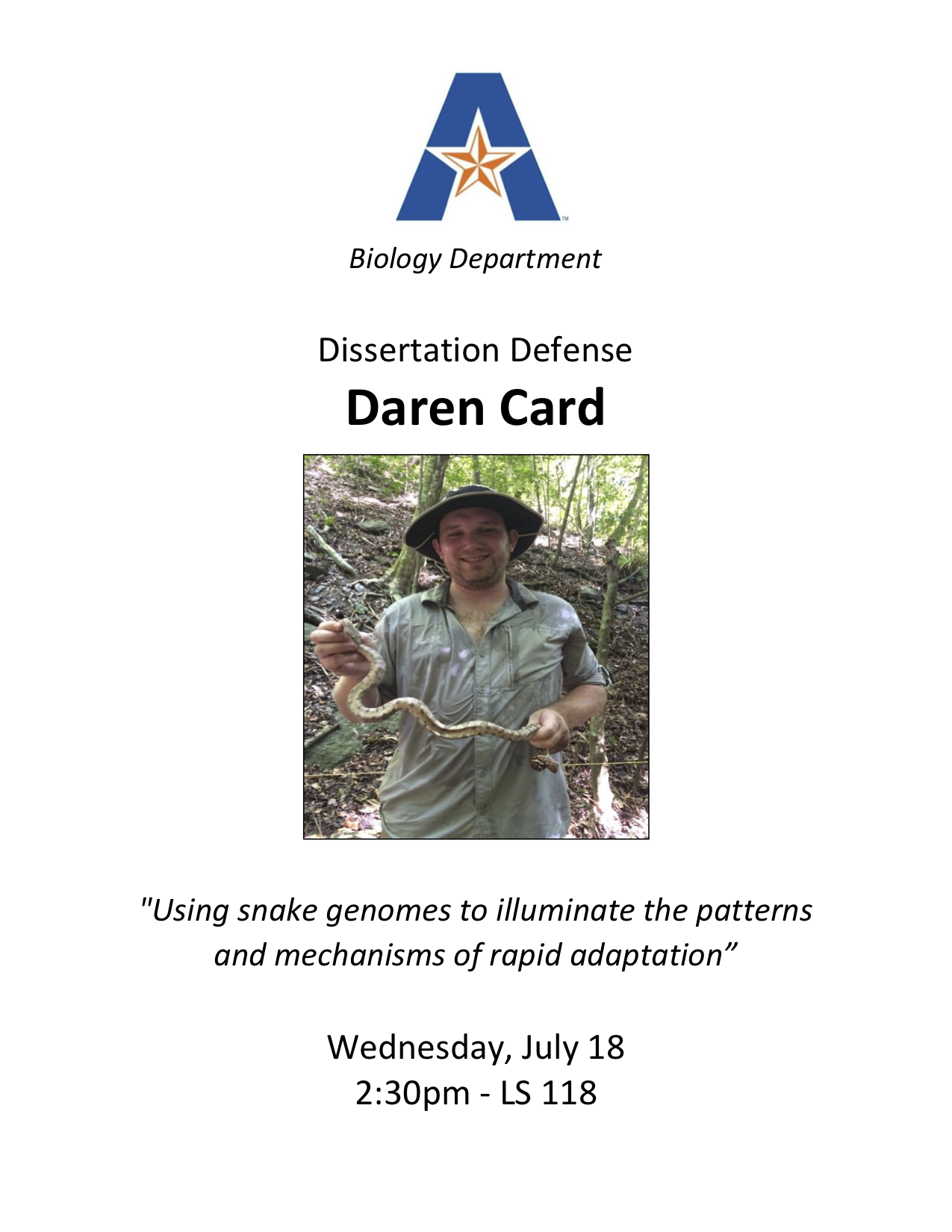 dissertation flyer