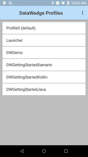 DataWedge
