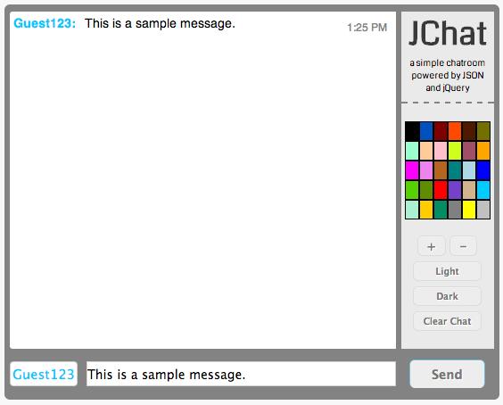 jchat screenshot
