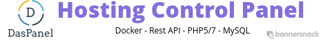 Free, open-source, server agnostic, self-hosted web hosting control panel using Docker