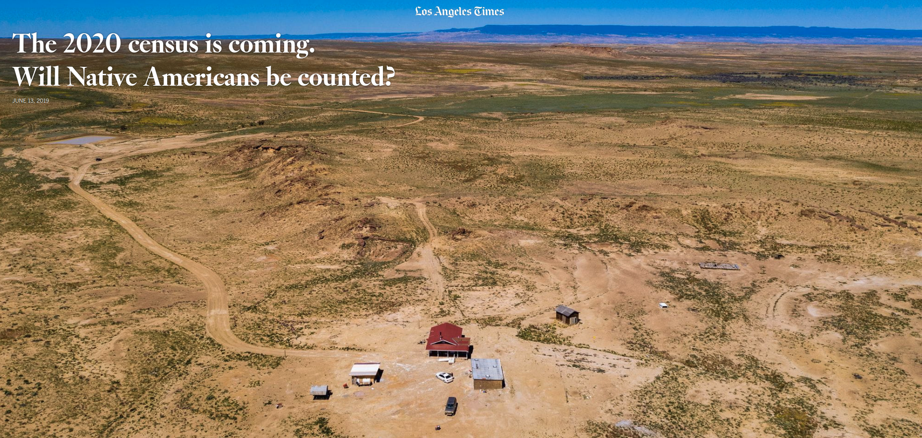 The 2020 census is coming. Will Native Americans be counted?