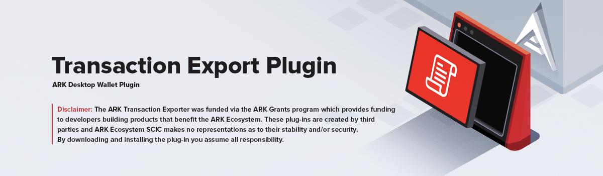 Transaction Export Plugin