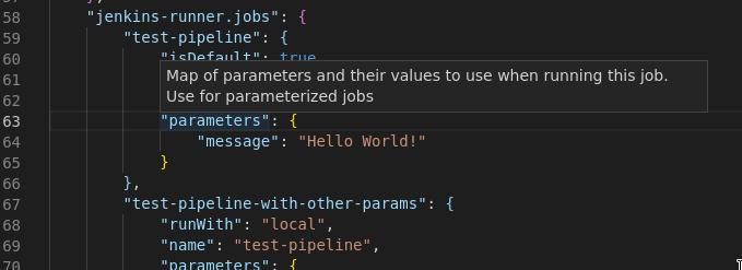 Parameters Config