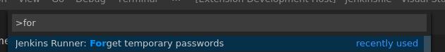 Forget Passwords