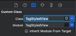 TagStyledView