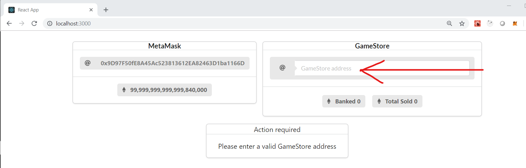 Configure GameStore
