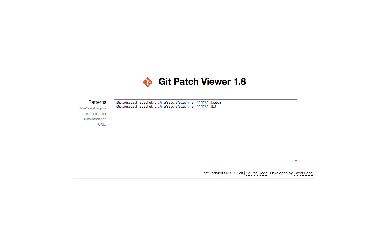 git patch file viewer