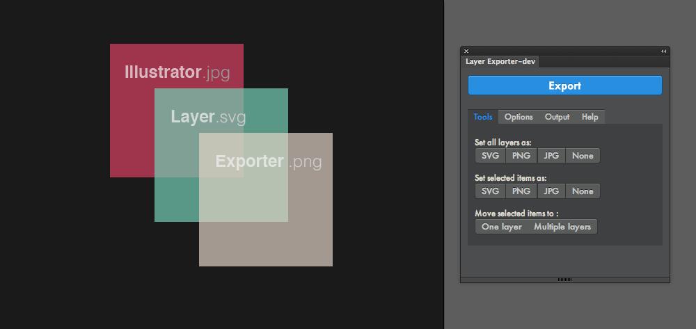 Github Davidderaedt Illustrator Layer Exporter A Panel