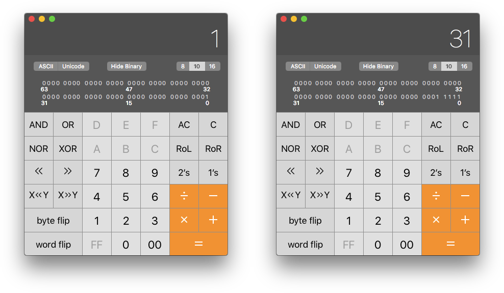 Developer Calculator