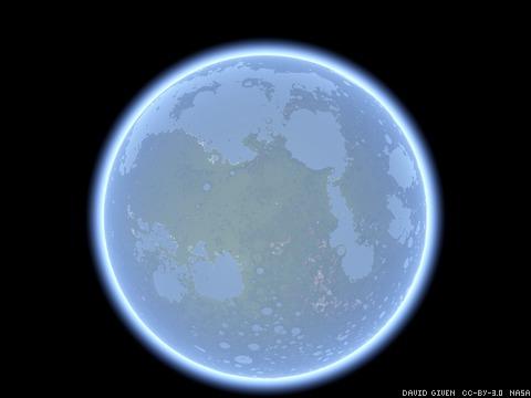 Lunar nearside