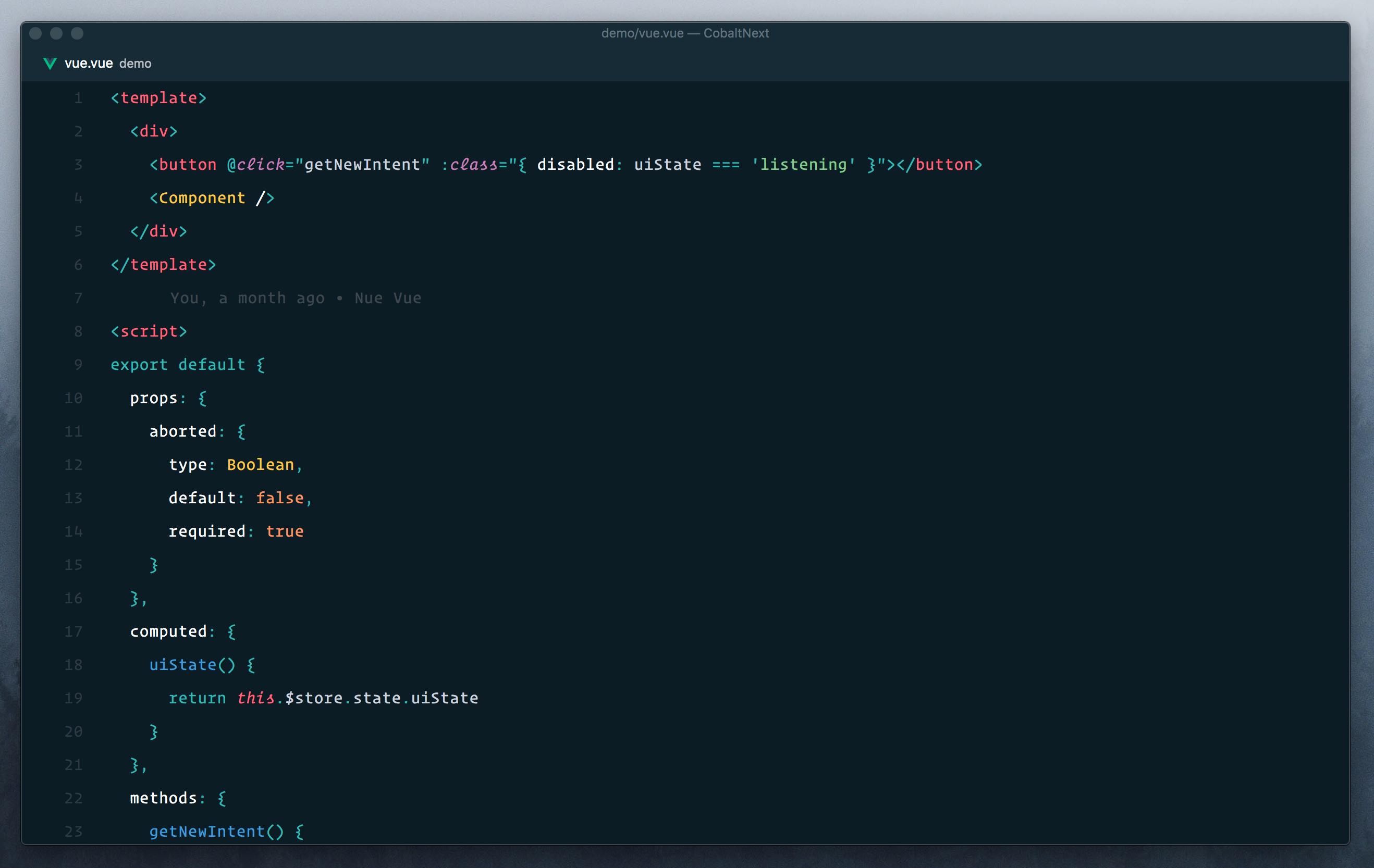 Screenshot Minimal