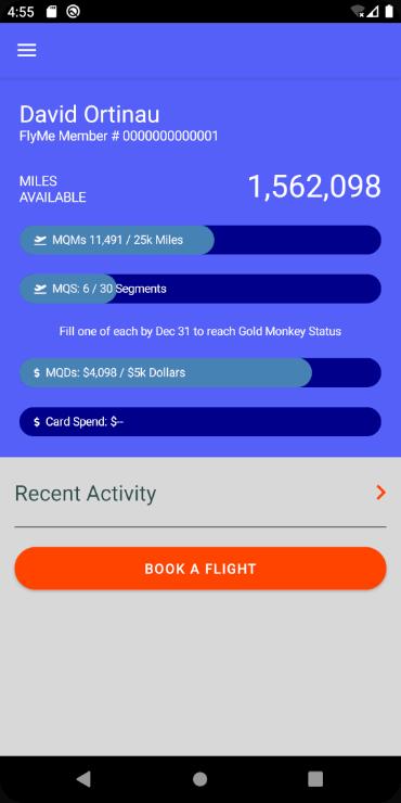 my flights flyout