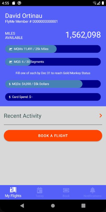 my flights tabs