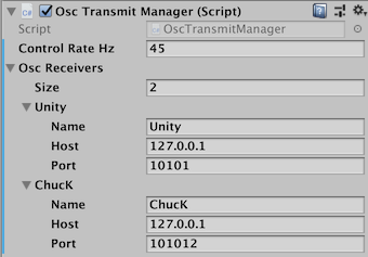The Osc Transmit Manager