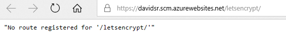image of no-route-registered-letsencrypt