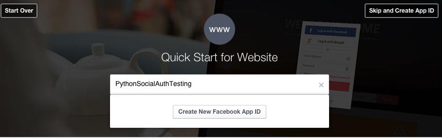 NameFacebookAppID