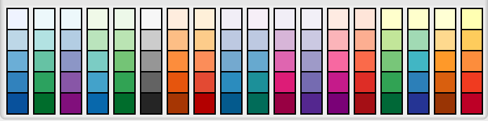 sequential colors