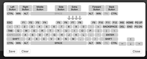 mouse button remap