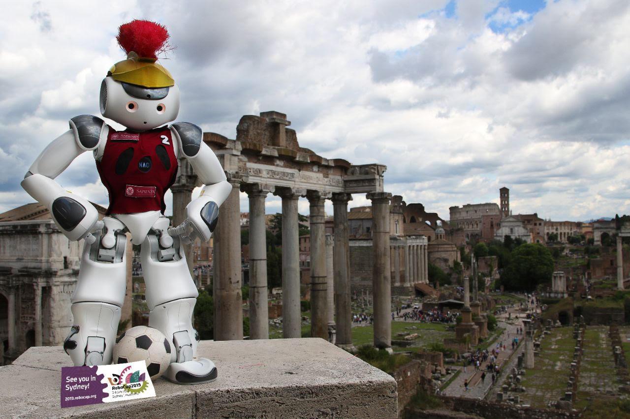 SPQR Team photo contest winner RoboCup 2019