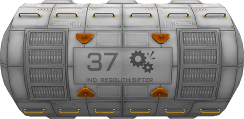 Industrial Regolith Sifter