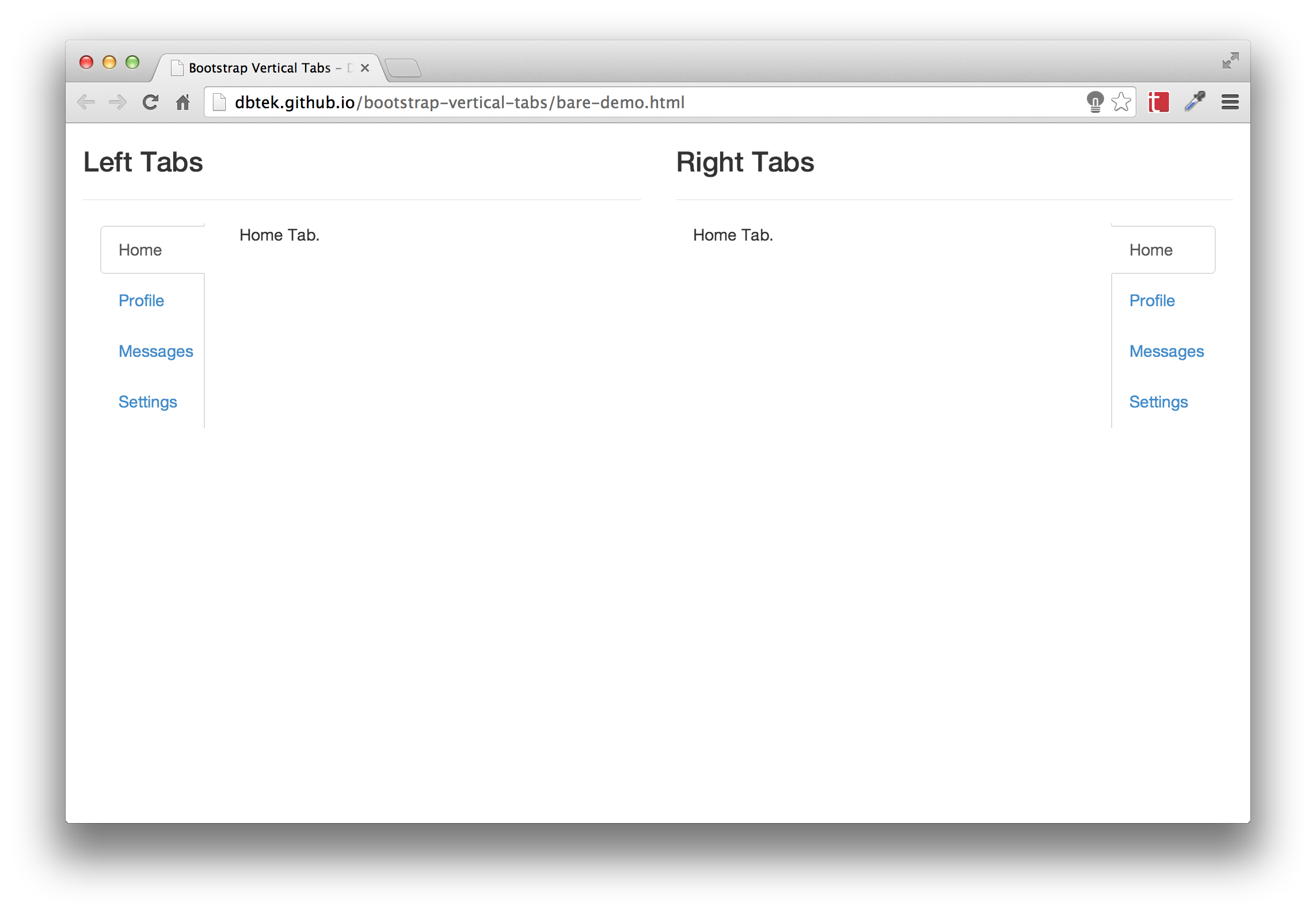 Bootstrap vertical tabs vertical tabs component for bootstrap 3 screenshot falaconquin