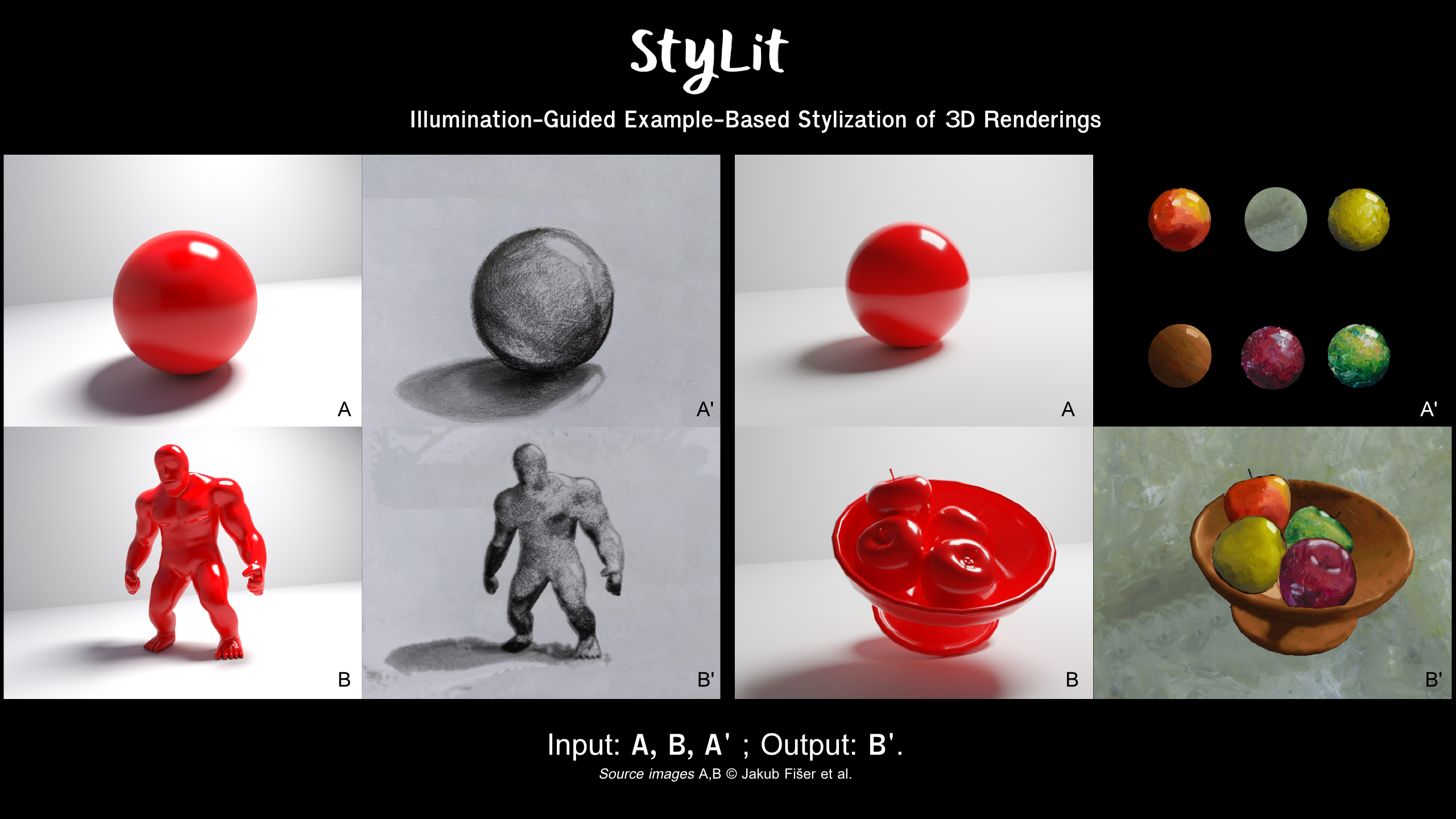 Two tools for transferring illustration styles to 3D models and live footage