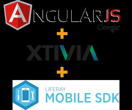 Liferay Mobile SDK for AngularJS logo