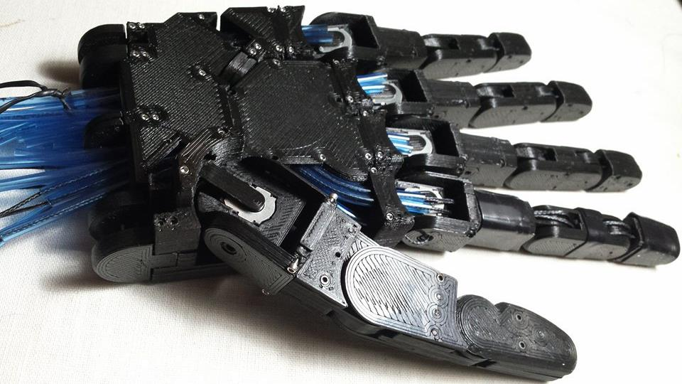 GitHub - ddigiorg/tyr-robotic-hand: Anthropomorphic Robotic
