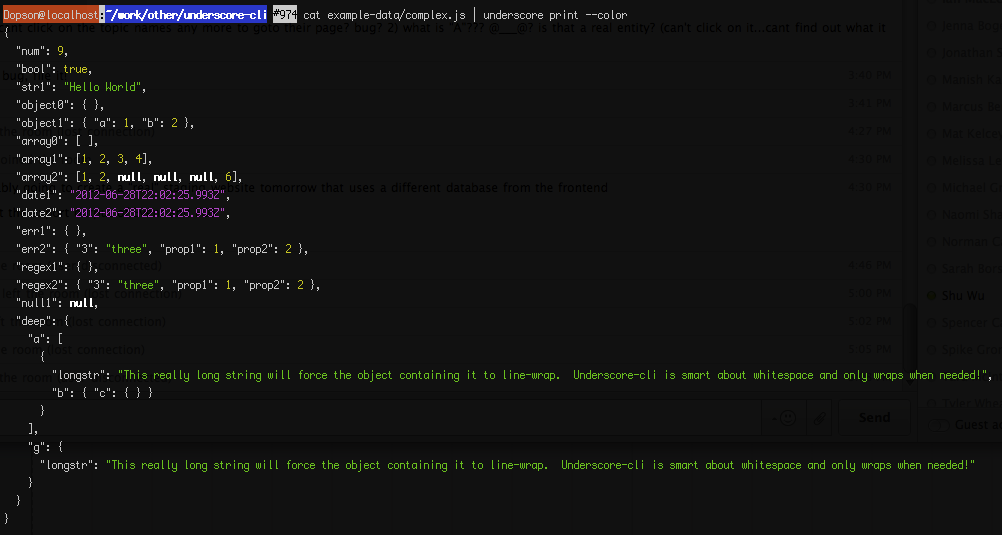 Its A Pretty Nifty Tool That Can Elegantly Do Lot Of Manipulation Structured Data Execute Js Snippets Fill Templates Etc