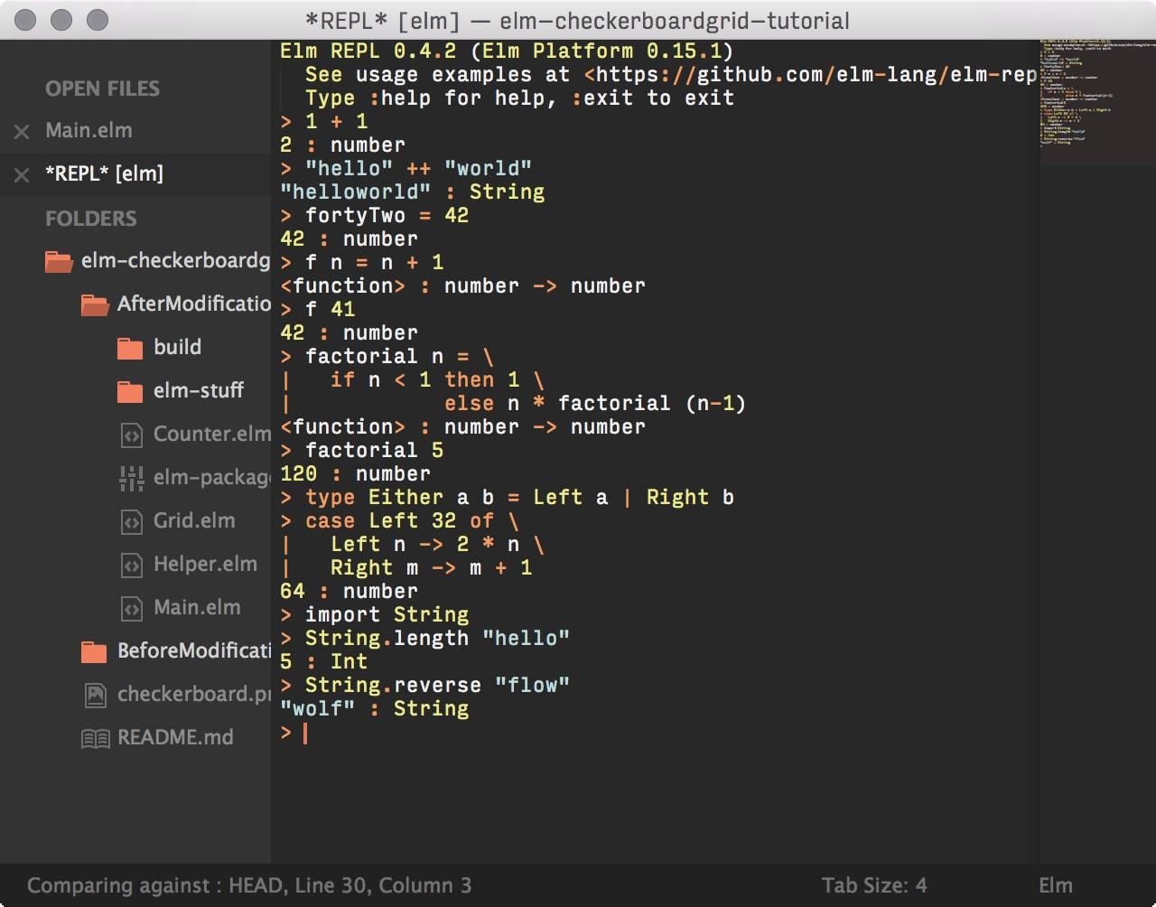 SublimeREPL screenshot