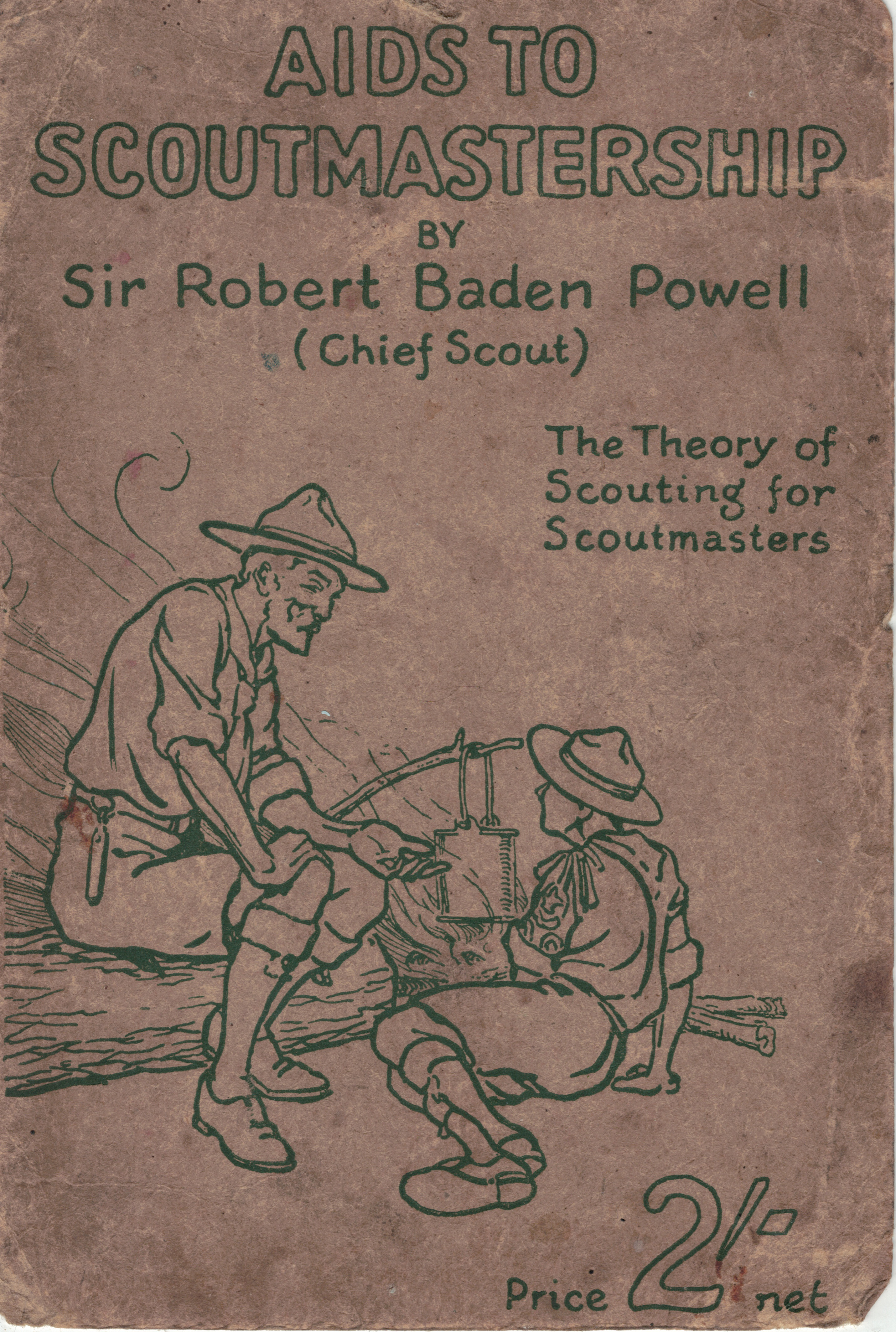 Aids to Scoutmastership by Sir Robert Baden Powell