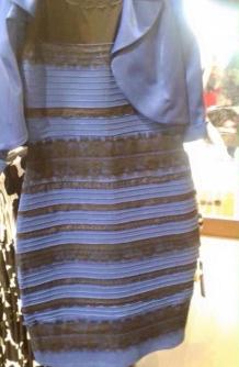 蓝黑还是白金