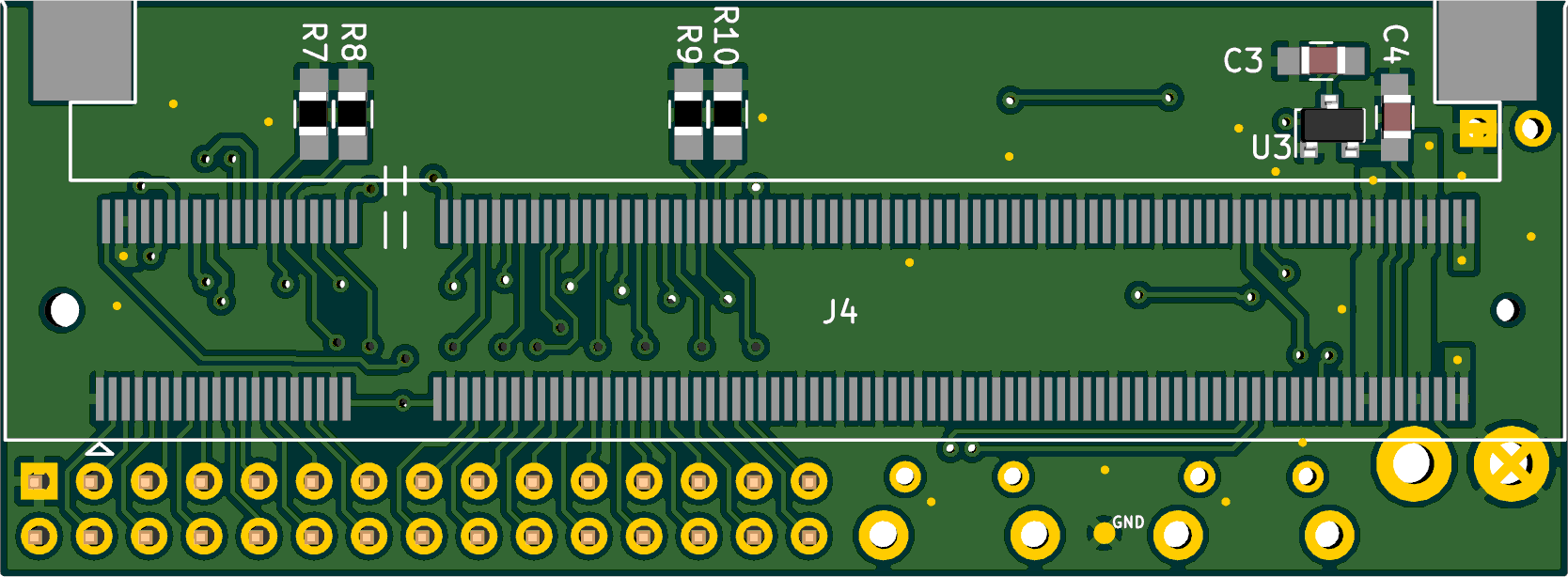 Preview of the back of the PCB