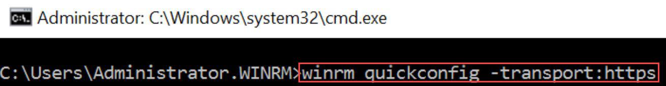 """""""Configure HTTPS"""""""