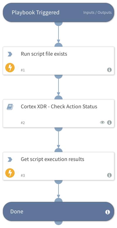 Cortex XDR - check file existence