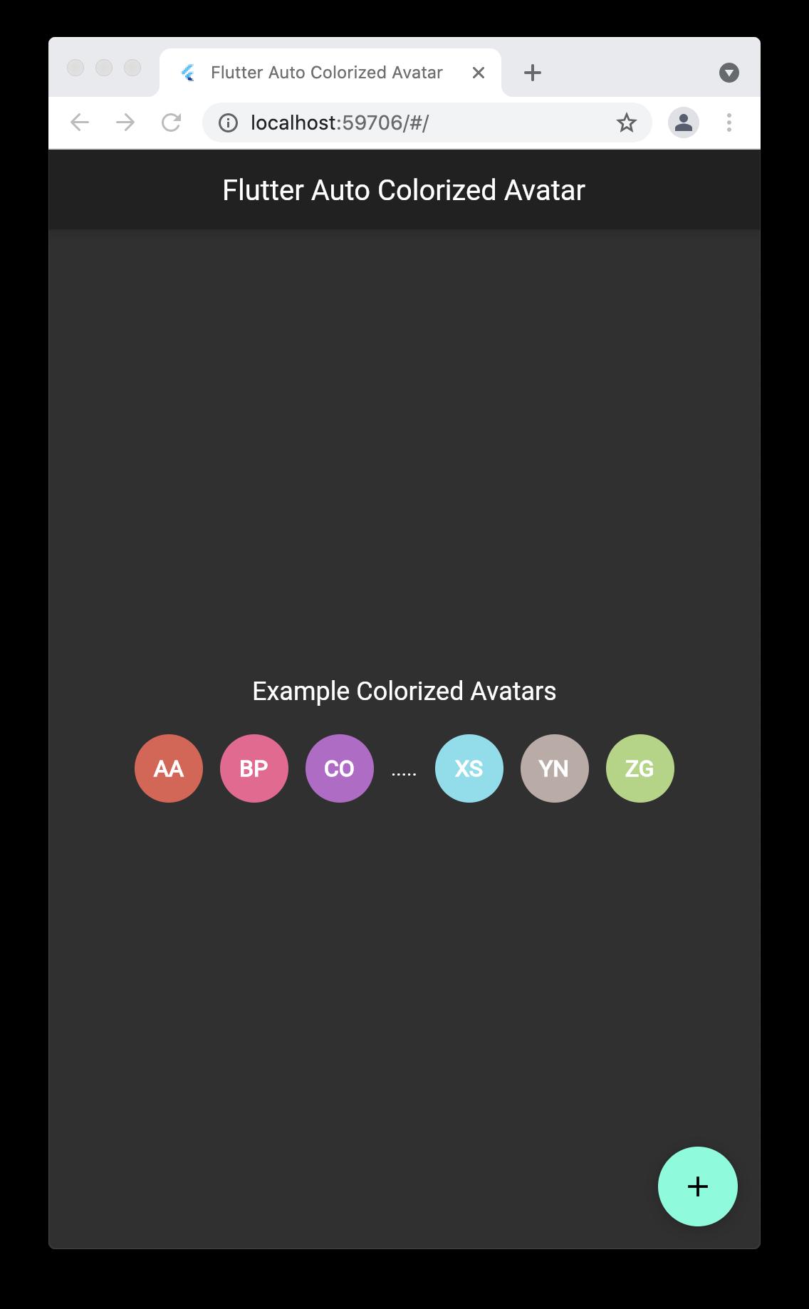 Colorize Text Avatar