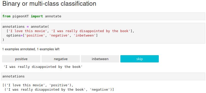 Jupyter notebook multi-class classification