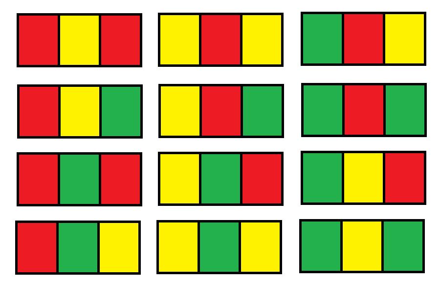 Number of Ways to Paint N x 3 Grid