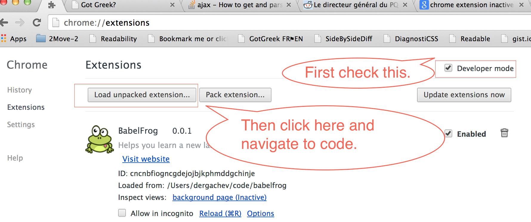 GitHub - dergachev/babelfrog: Chrome extension to help learn