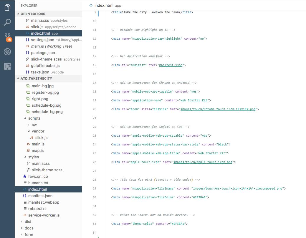Feather Sidebar - Visual Studio Theme
