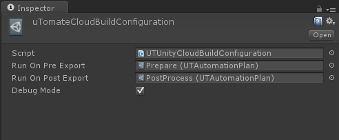 U Tomate Unity Cloud Build Sample - UnityList