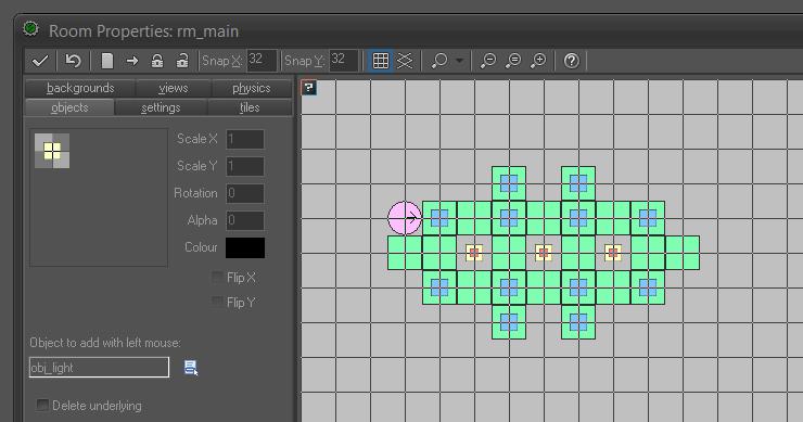 J3D GameMaker Room Editor