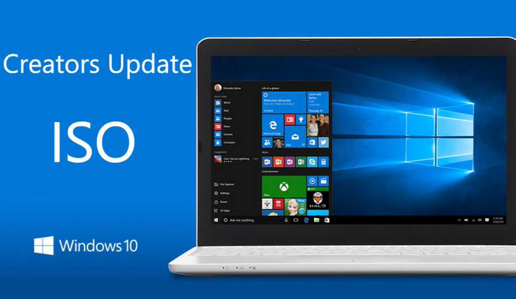 Download Windows 10 Creators Update ISO File direct from microsoft.com (32-bit and 64-bit)