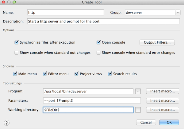WebStorm Usage
