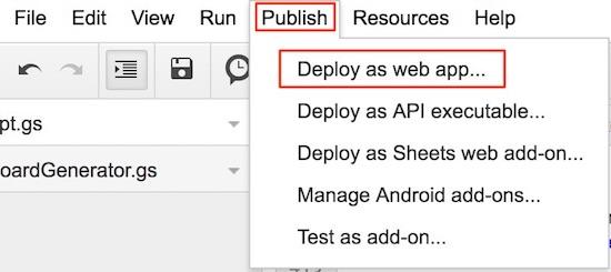 publish-script