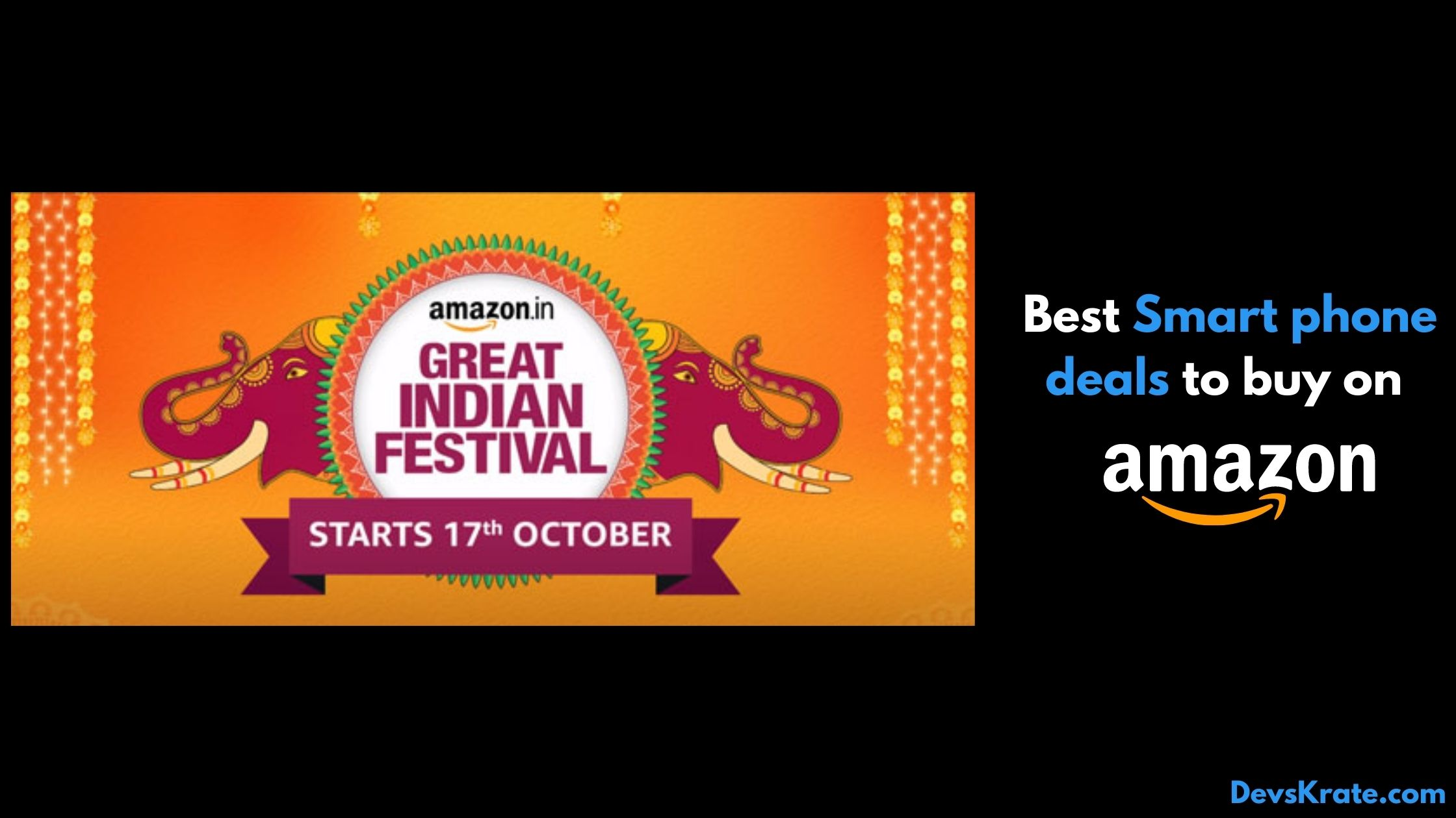 Amazon Great India sales 2020 discounts in mobile.