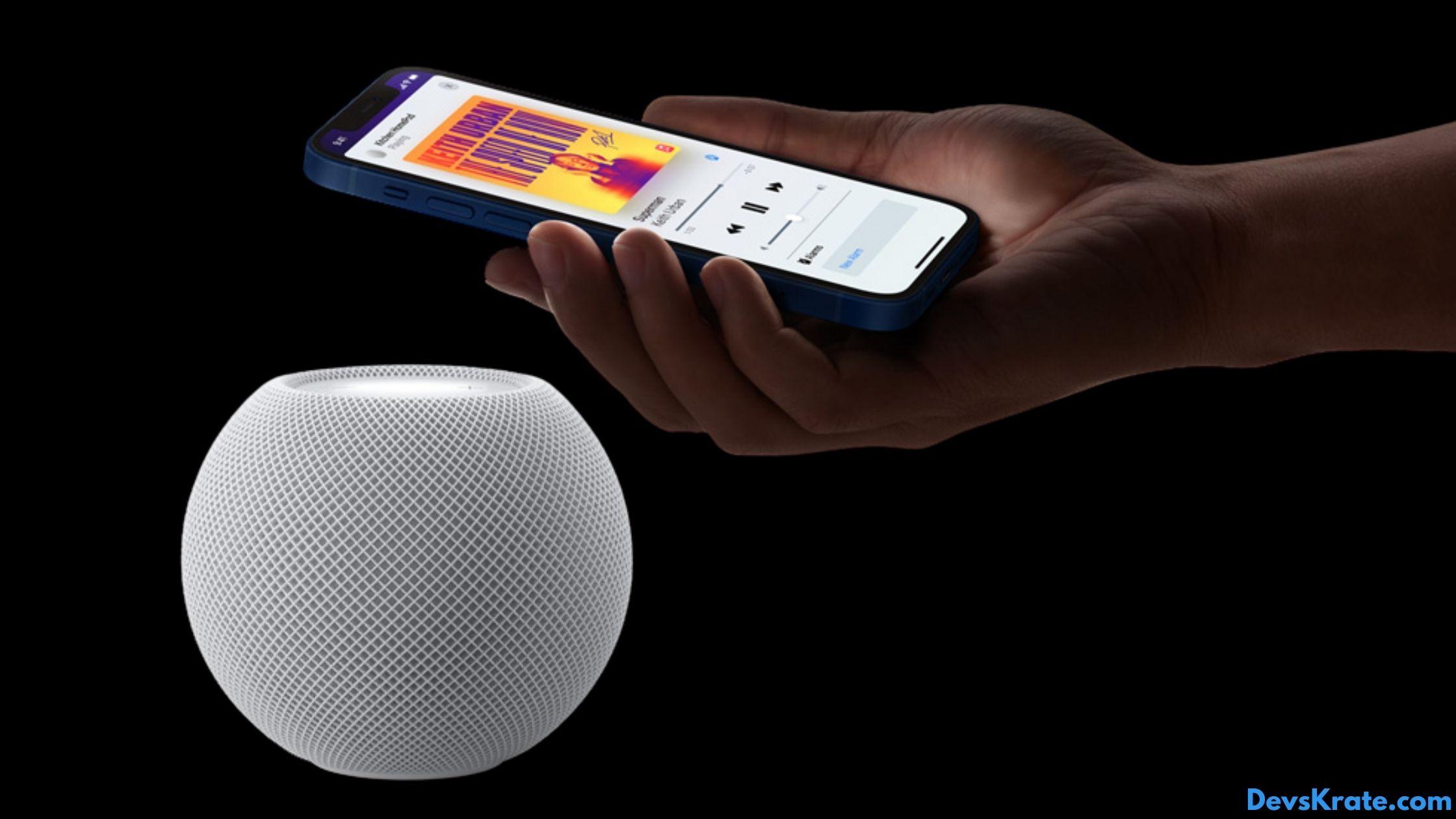 Apple HomePod mini specs and features.