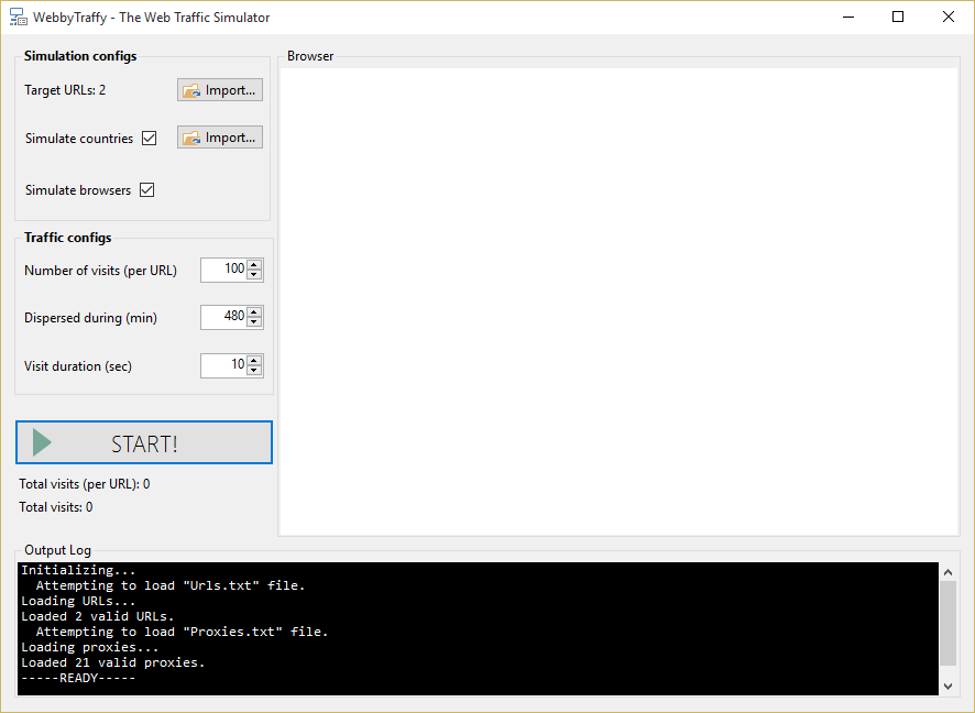 GitHub - dialex/WebbyTraffy: Simulates web page requests (traffic