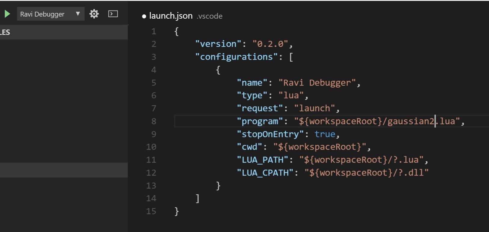 Configure launch.json