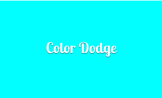 color-dodge